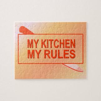 Mi cocina. Mis reglas. Diseño de la diversión para Puzzle Con Fotos