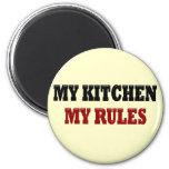Mi cocina mis reglas imanes para frigoríficos