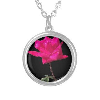Mi color de rosa oscuro grimpola personalizada
