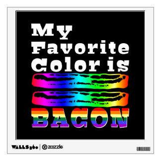 Mi color preferido es tocino vinilo