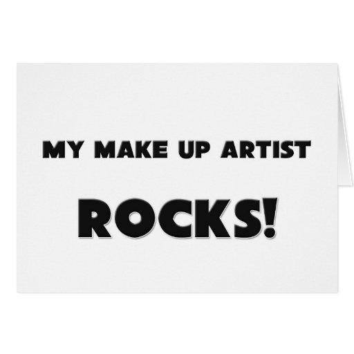 ¡MI componga las ROCAS del artista! Felicitación