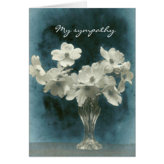 Mi condolencia: El Dogwood florece (la foto dentro Tarjeta Pequeña