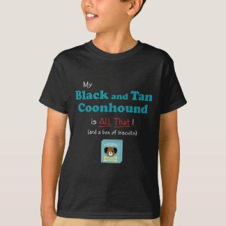 ¡Mi Coonhound del negro y del moreno es todo el Remera