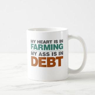 Mi corazón consiste en el cultivo pero… taza de café