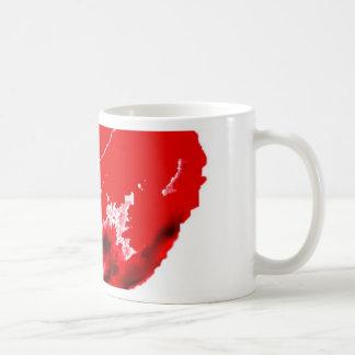 Mi corazón de derrota taza de café