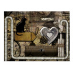 Mi corazón de Steampunk Postal
