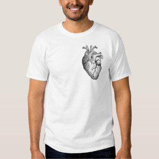Mi corazón (esquema negro) poleras