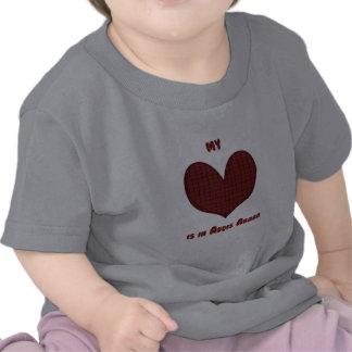 Mi corazón está en Addis Ababa Camisetas