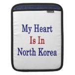 Mi corazón está en Corea del Norte Mangas De iPad