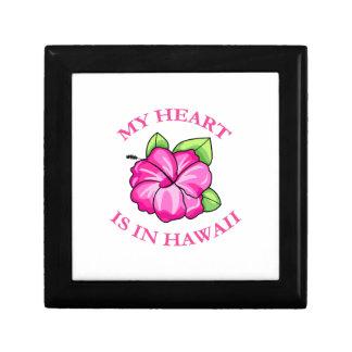 Mi corazón está en Hawaii Cajas De Regalo
