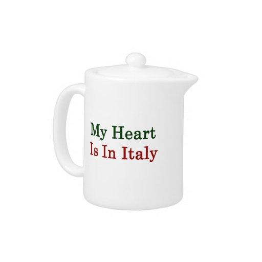 Mi corazón está en Italia