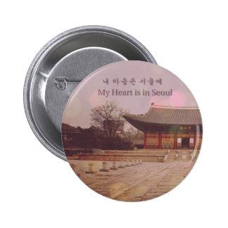 Mi corazón está en Seul Pins