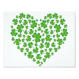Mi corazón irlandés invitación