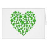 Mi corazón irlandés tarjeta
