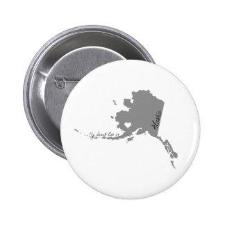 Mi corazón miente en Alaska Pin Redondo 5 Cm