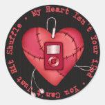 Mi corazón no es su pegatina de iPod