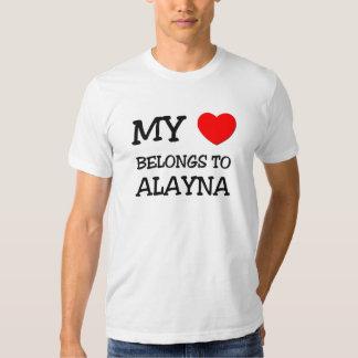 Mi corazón pertenece a ALAYNA Polera