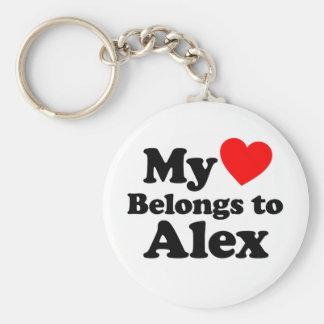 Mi corazón pertenece a Alex Llavero