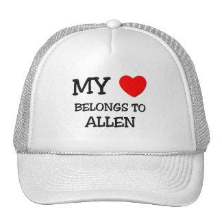 Mi corazón pertenece a Allen Gorra