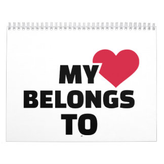 Mi corazón pertenece a calendario
