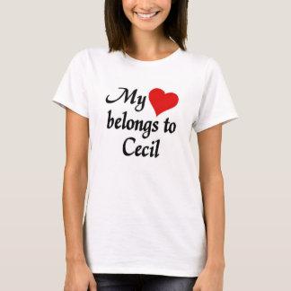 Mi corazón pertenece a Cecil Playera