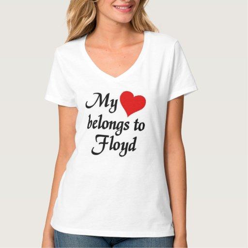 Mi corazón pertenece a Floyd Playeras