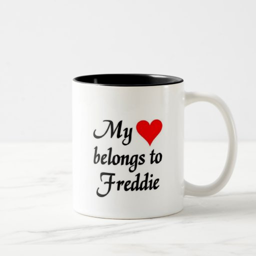 Mi corazón pertenece a Freddie Taza