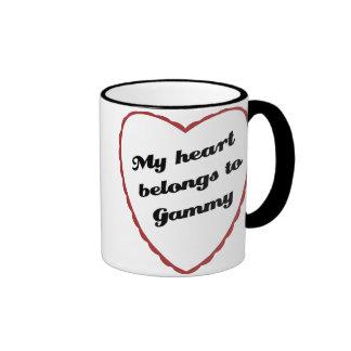 Mi corazón pertenece a Gammy Tazas