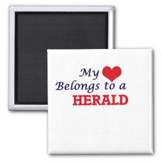 Mi corazón pertenece a Herald Imán Cuadrado