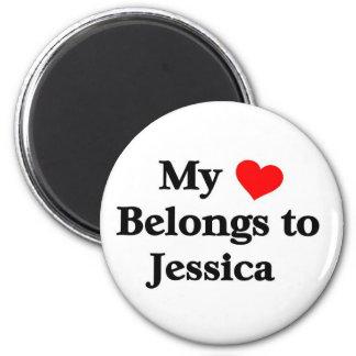 Mi corazón pertenece a Jessica Iman