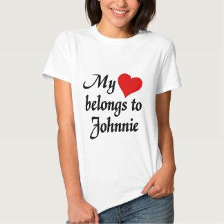 Mi corazón pertenece a Johnne Remera