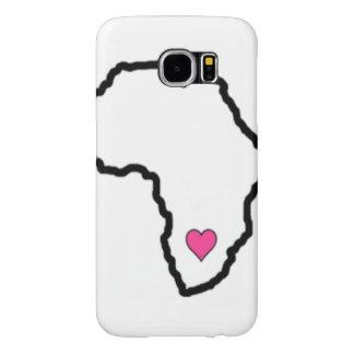 Mi corazón pertenece a la caja de la galaxia S6 de Funda Samsung Galaxy S6