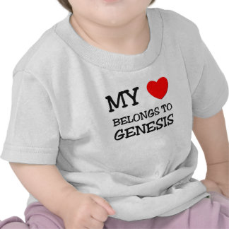 Mi corazón pertenece a la GÉNESIS Camiseta