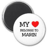 Mi corazón pertenece a MARIN Iman De Nevera