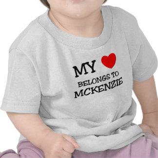 Mi corazón pertenece a MCKENZIE Camisetas
