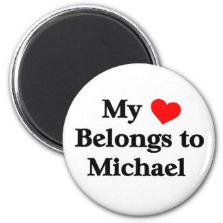Mi corazón pertenece a Michael Imán De Frigorifico