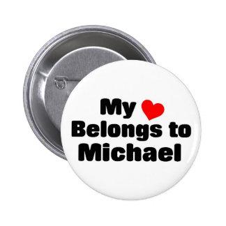Mi corazón pertenece a Michael Pin