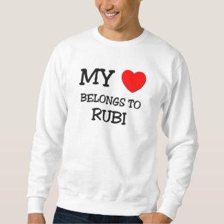 Mi corazón pertenece a RUBI Jersey