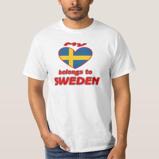 Mi corazón pertenece a Suecia Playera