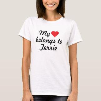 Mi corazón pertenece a Terrie Playera