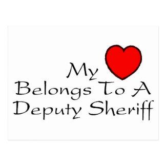 Mi corazón pertenece a un ayudante del sheriff postal
