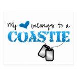 Mi corazón pertenece a un Coastie Postal