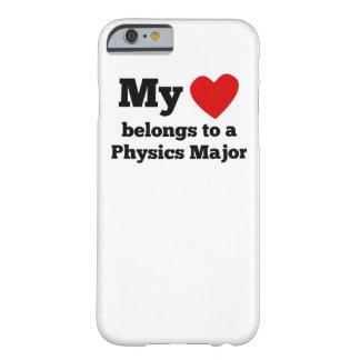 Mi corazón pertenece a un comandante de la física funda para iPhone 6 barely there