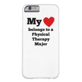 Mi corazón pertenece a un comandante de la terapia funda para iPhone 6 barely there