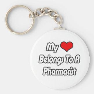 Mi corazón pertenece a un farmacéutico llavero