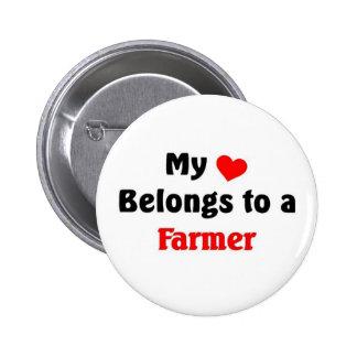 Mi corazón pertenece a un granjero pins