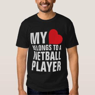 Mi corazón pertenece a un jugador del Netball Playera