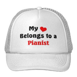 Mi corazón pertenece a un pianista gorro