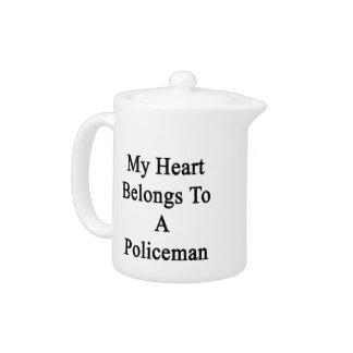 Mi corazón pertenece a un policía