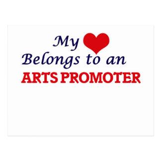 Mi corazón pertenece a un promotor de los artes postal